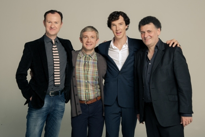 Sherlock - Gatiss Freeman Cumberbatch Moffat