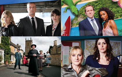 DCI Banks, Death in Paradise, Father Brown, Scott & Bailey Station Lists Updated