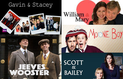 2014 Valentine's Day British TV Programs