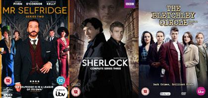 Brit TV News Bits: Selfridge, Sherlock, Bletchley, Derek, and More
