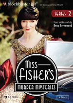 Miss Fisher's Murder Mysteries Series 2 DVD