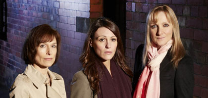 Scott and Bailey Amelia Bullmore Suranne Jones Lesley Sharp