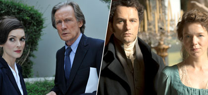 Worricker and Death Comes to Pemberley