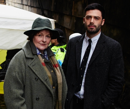Brenda Blethyn in Vera: Series 5 and on The Graham Norton Show