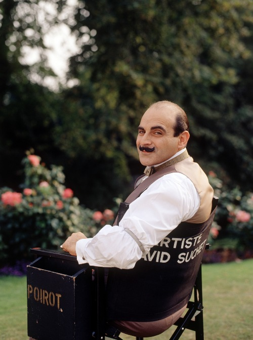 David Suchet Being Poirot
