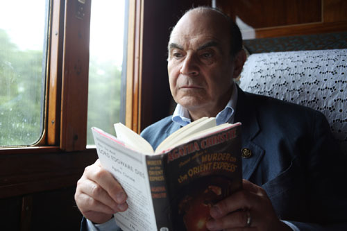 David Suchet reading Murder on the Orient Express