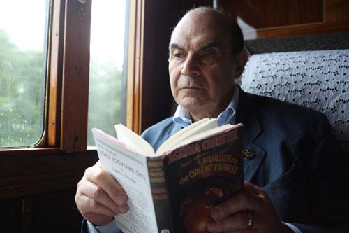 David Suchet reading Murder on the Orient Express
