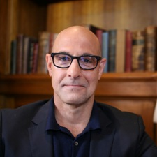 Stanley Tucci host of Being Poirot