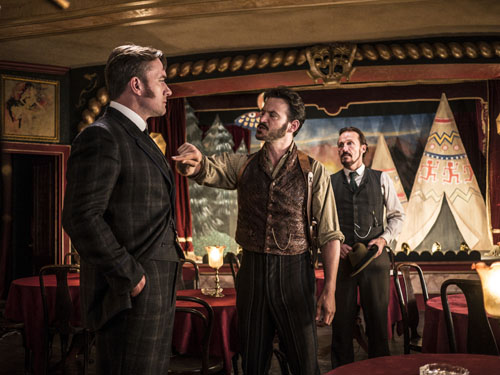 Matthew Macfadyen, Adam Rothenberg, Jerome Flynn, Ripper Street Season 3