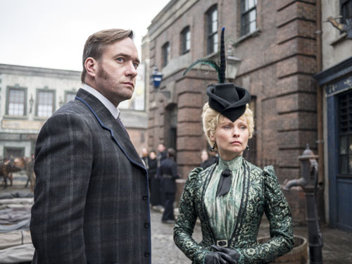 Matthew Macfadyen and MyAnna Buring, Ripper Street Season 3