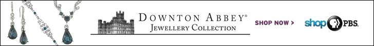 Downton Abbey Jewellery Collection horizontal banner