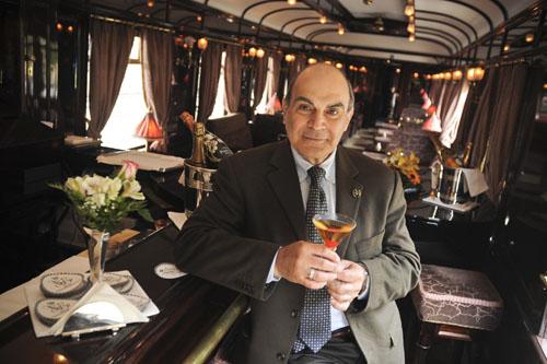 David Suchet on the Orient Express