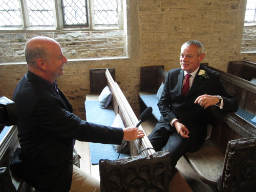 Doc Martin Martin Clunes Interview