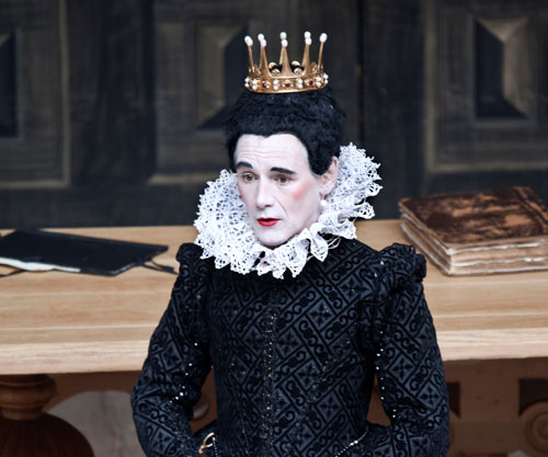 Mark Rylance as Olivia in Shakespeare's Globe production of Twelfth Night