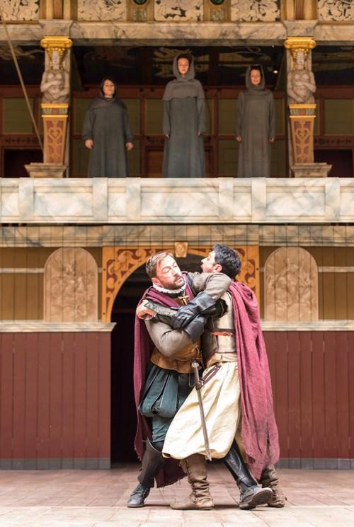Julius Caesar Globe On Screen