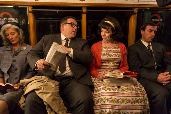 Mr. Sloane: Nick Frost as Jeremy Sloane, Olivia Colman as Janet