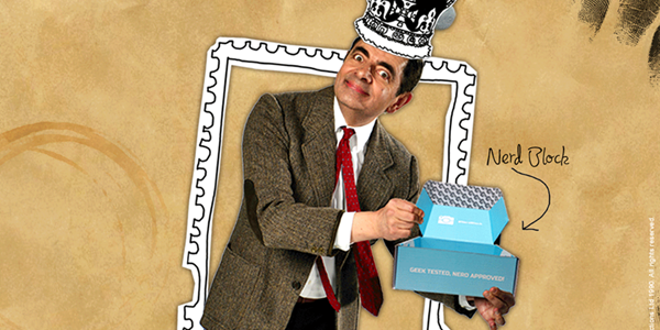 Mr. Bean Curates British Invasion-Themed Collectibles Set for Nerd Block