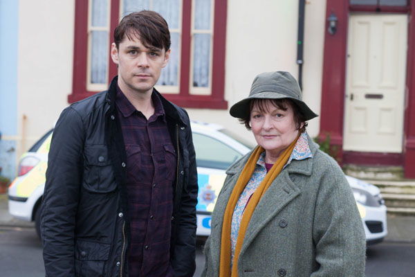 Vera: Series 5: Kenny Doughty as DS Aiden Healy, Brenda Blethyn as DCI Vera Stanhope