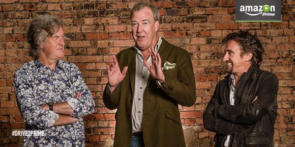 Amazon Gears Up New Jeremy Clarkson, Richard Hammond, James May Car Show