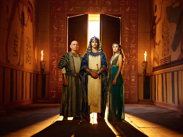 Tut on Spike TV (US) & Channel 5 (UK)