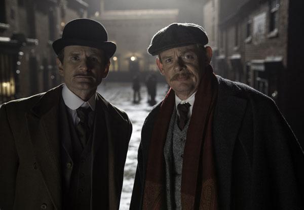 Arthur & George - Charles Edwards as Alfred Wood and Martin Clunes as Sir Arthur Conan Doyle