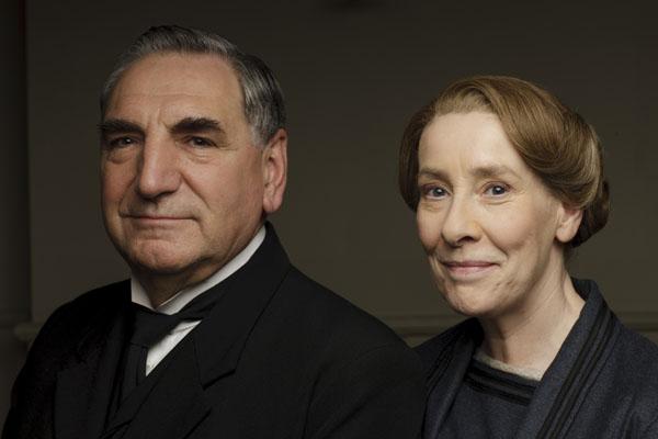 Downton Abbey Jim Carter Phyllis Logan