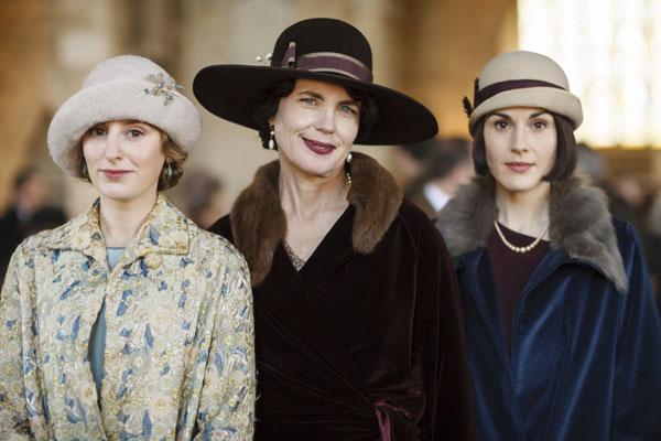 Downton Abbey Laura Carmichael Elizabeth McGovern Michelle Dockery
