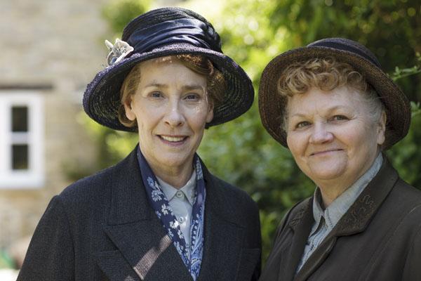 Downton Abbey Phyllis Logan Lesley Nicol