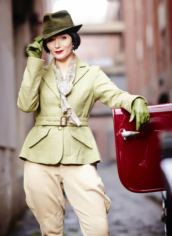 Miss Fisher's Murder Mysteries Essie Davis as Phryne Fisher