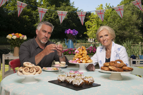 PBS The Great British Baking Show Paul Hollywood and Mary Berry