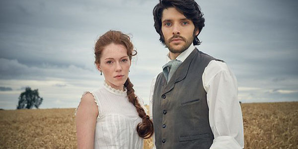 The Living and the Dead: Charlotte Spencer and Colin Morgan