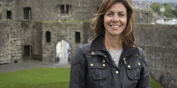 The Wonder of Britain - Our Beautiful Buildings - Julia Bradbury at Caernarfon Castle