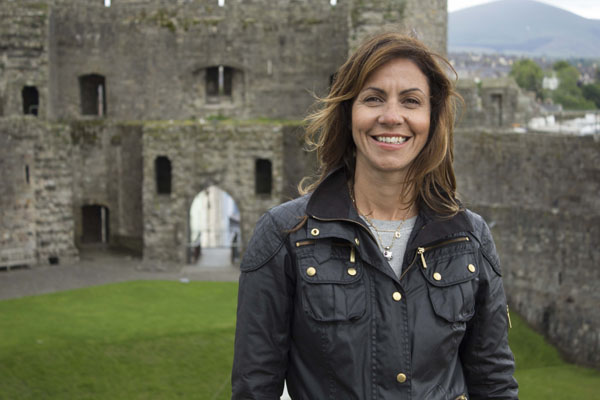 The Wonder of Britain - Our Beautiful Buildings - Julia Bradbury at Caernarfon Castle