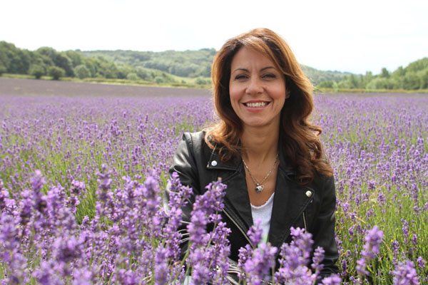 The Wonder of Britain - Our Countryside Story - Julia Bradbury in Castle Farm's Lavender Field in Kent