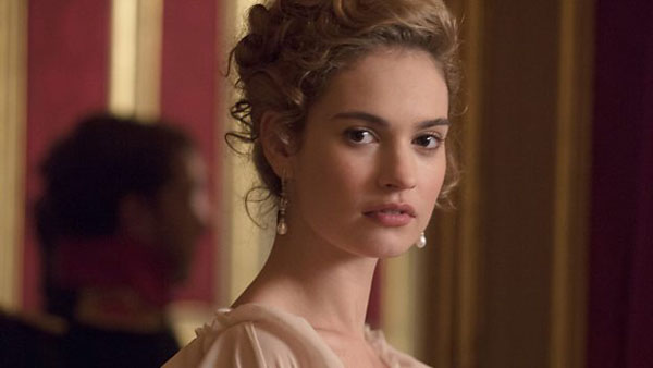 War and Peace Lily James as Natasha