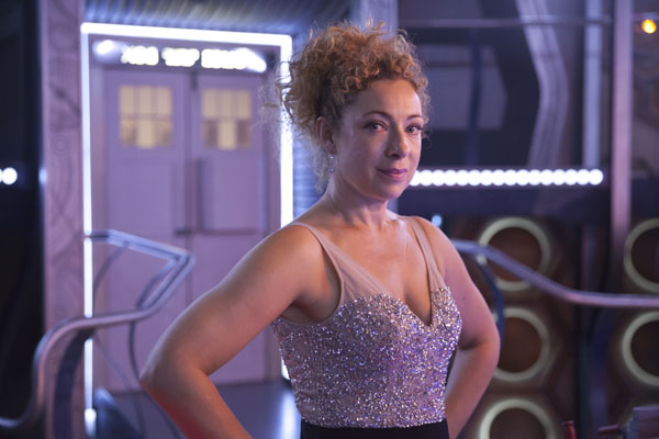 Doctor Who Christmas Special 2015: Alex Kingston as Professor River Song