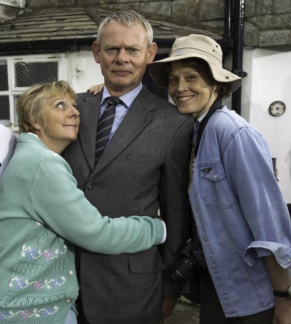 Doc Martin: Series 7: Selina Cadell, Martin Clunes, Sigourney Weaver