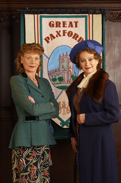 Home Fires Samantha Bond Francesca Annis