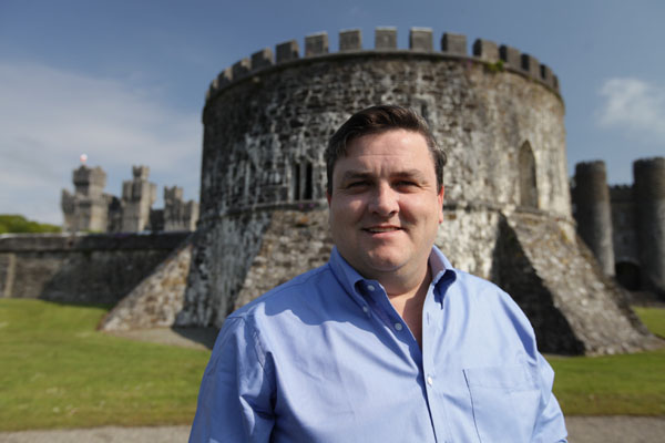 Tales of Irish Castles: Simon Delaney at Ashford Castle in County Mayo