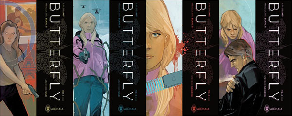 Butterfly comic book series