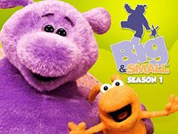 Big & Small children's TV series