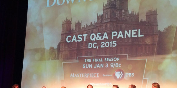 Pics: Downton Does DC: WETA Hosted Last-Ever Downton Abbey Preview + Cast Q&A