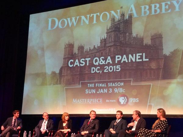 WETA Downton Abbey Series 6 Preview & Cast Q&A