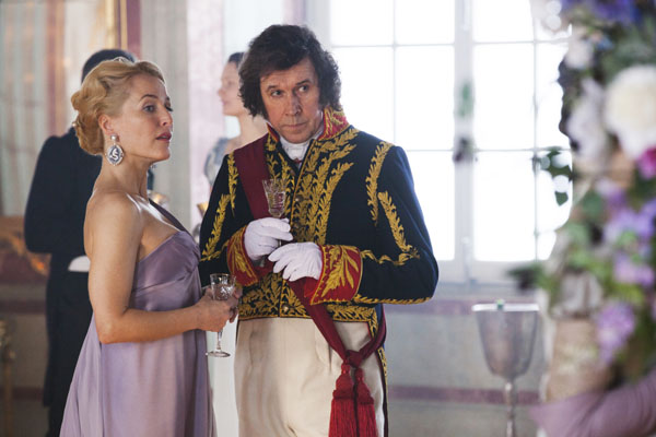 War & Peace: Gillian Anderson Stephen Rea