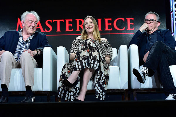 Churchill's Secret Michael Gambon Romola Garai Charles Sturridge at Winter 2016 TCA