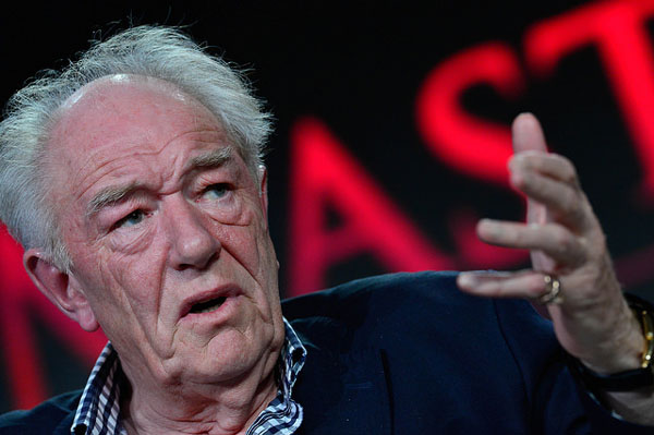 Churchill's Secret Michael Gambon at Winter 2016 TCA