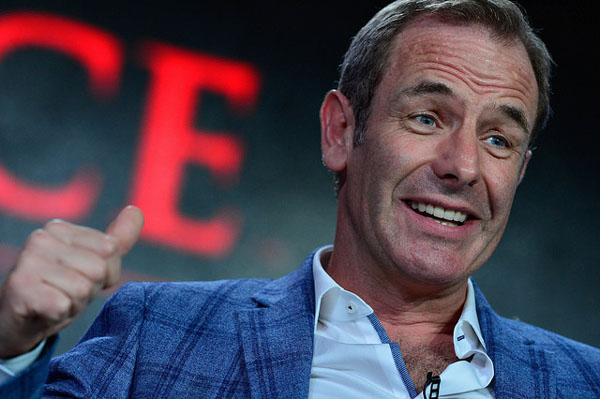 Grantchester S2 Robson Green at Winter 2016 TCA