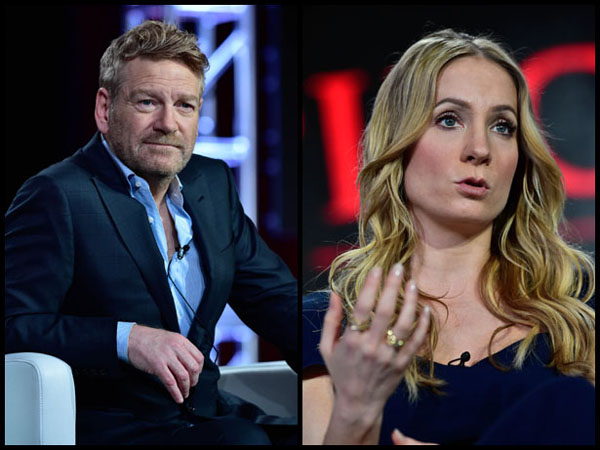 Kenneth Branagh Wallander Joanne Froggatt Dark Angel at Winter 2016 TCA