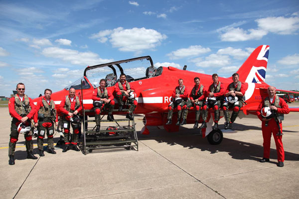 The RAF Red Arrows - Inside the Bubble