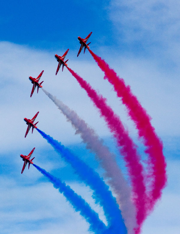 The RAF Red Arrows: Inside the Bubble
